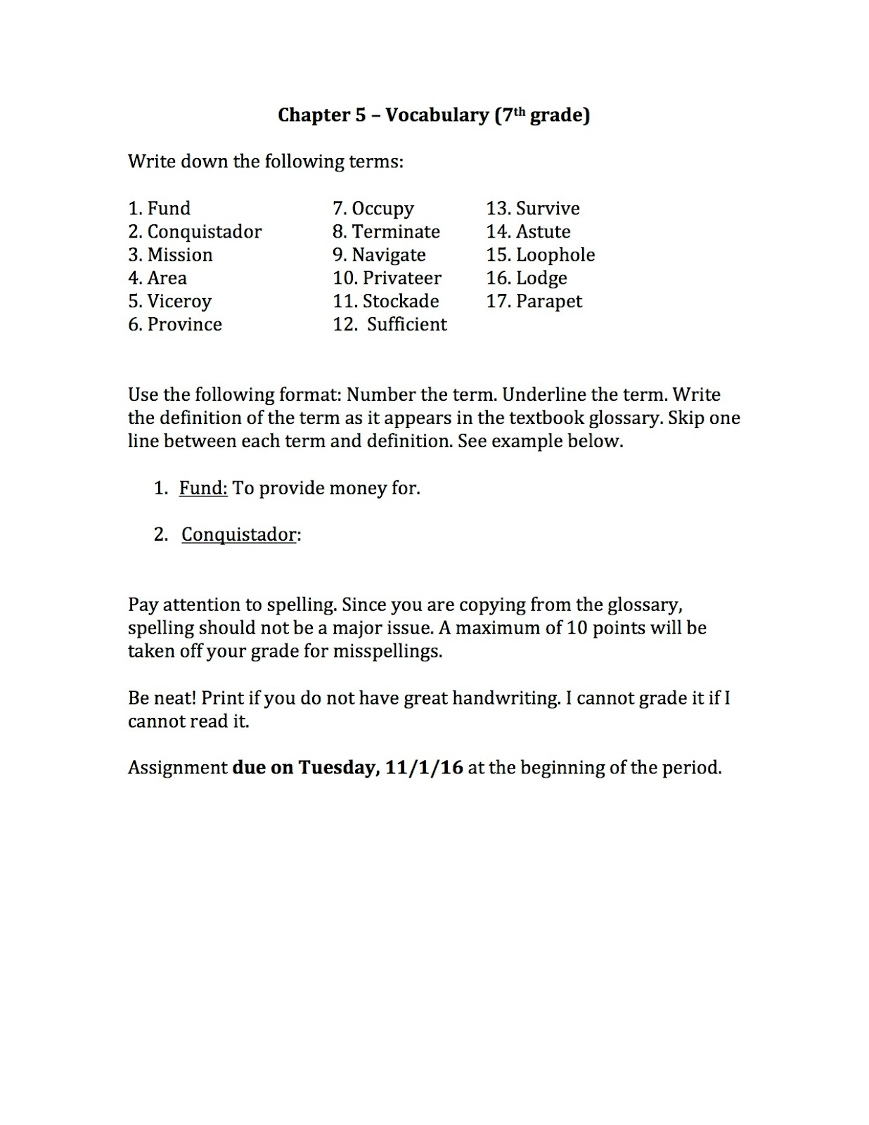 hight resolution of EHMS Texas History: Tests Graded