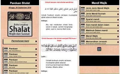 Panduan Sholat Fardu & Sunnah