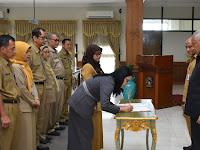 Sleman Lakukan Kontrak Awal Pengadaan Barang dan Jasa 2019