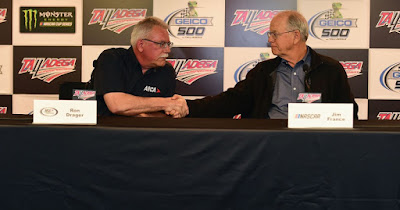 ARCA President Ron Drager and Jim France re: NASCAR's Acquisition of ARCA,