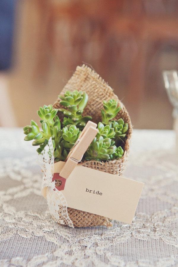 Burlap Wedding Favors Eco Friendly 21 My Wedding Bridal Fashion