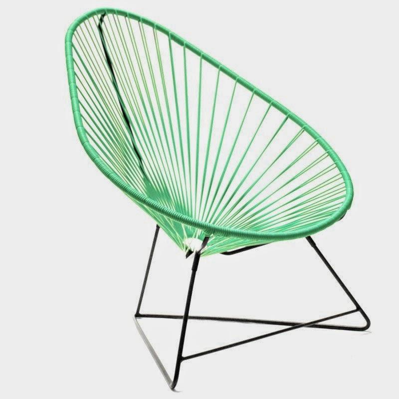 fauteuil acapulco ou scoubidou caract rielle. Black Bedroom Furniture Sets. Home Design Ideas