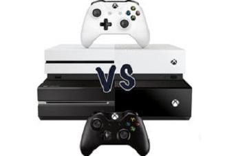 Xbox One S vs. Xbox One X
