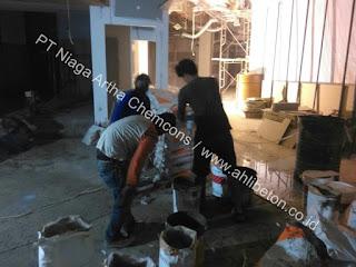 material perkuatan lantai beton