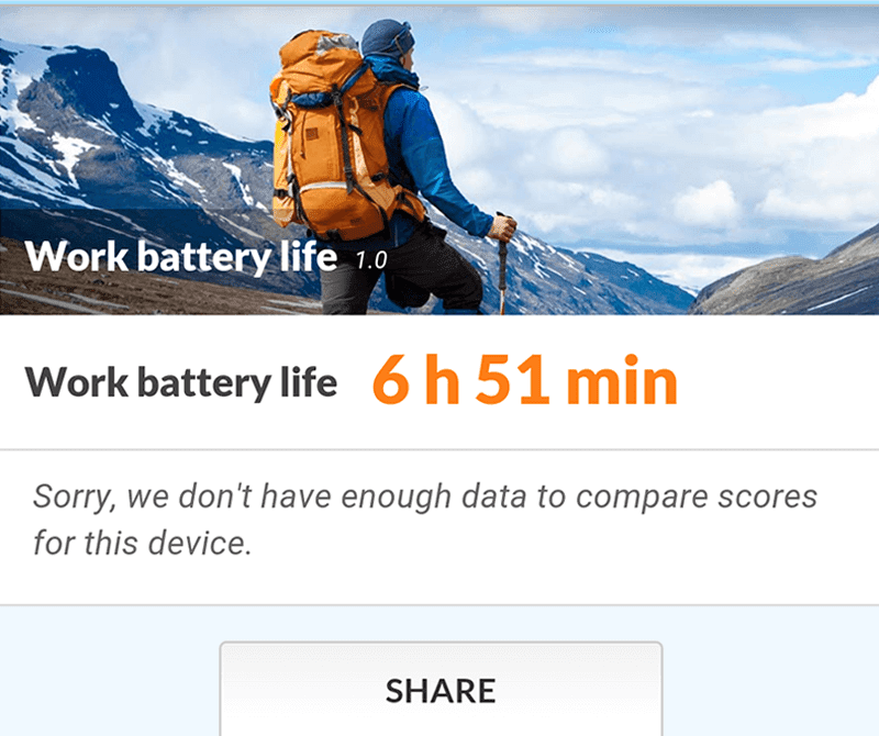 Battery life test
