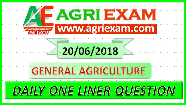 Agriculture Questions for Agriculture Exams icar Exam General Agriculture