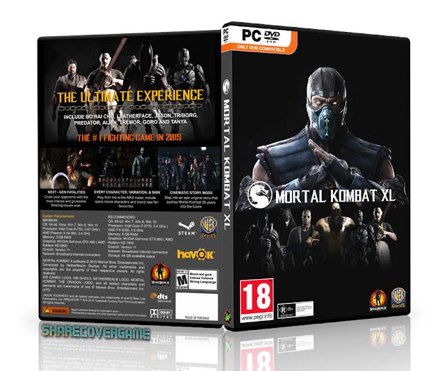 Mortal Kombat XL Box Cover