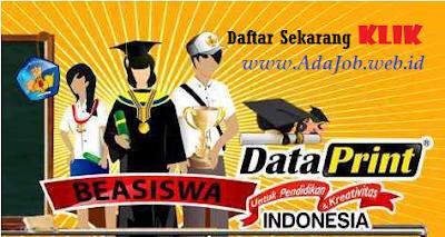 Pendaftaran Beasiswa DataPrint