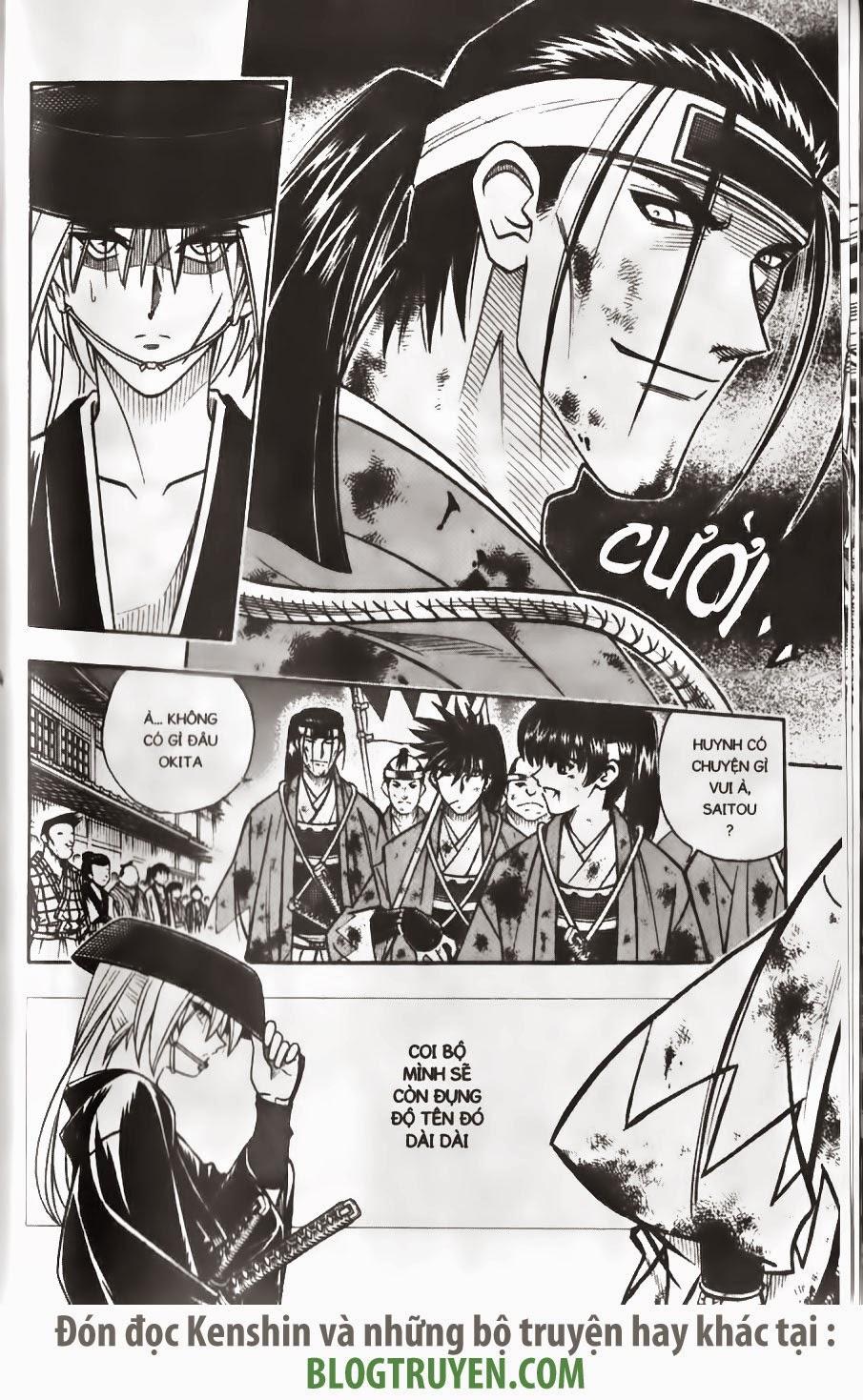 Rurouni Kenshin chap 170 trang 9
