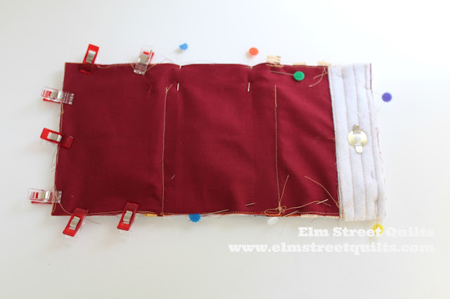 Elm Street Quilts Sew Binding Bag tutorial
