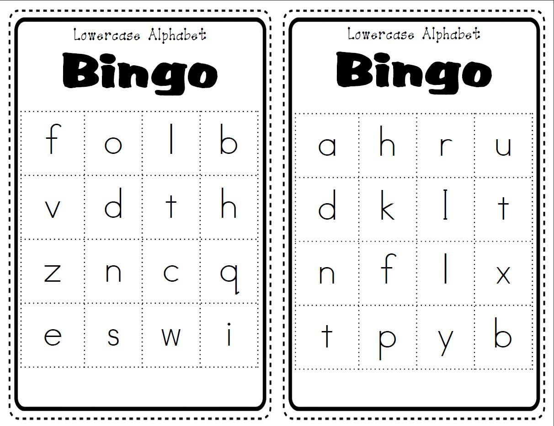 Alphabet Bingo Cards Official Site Of Jossara Jinaro