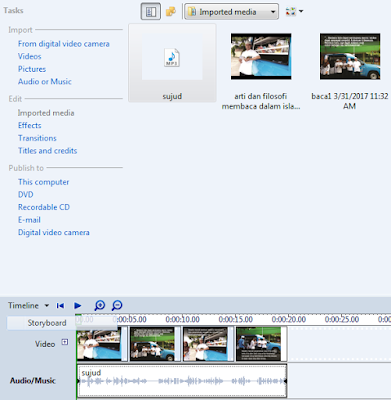 Proses Pembuatan Video dengan Movie Maker