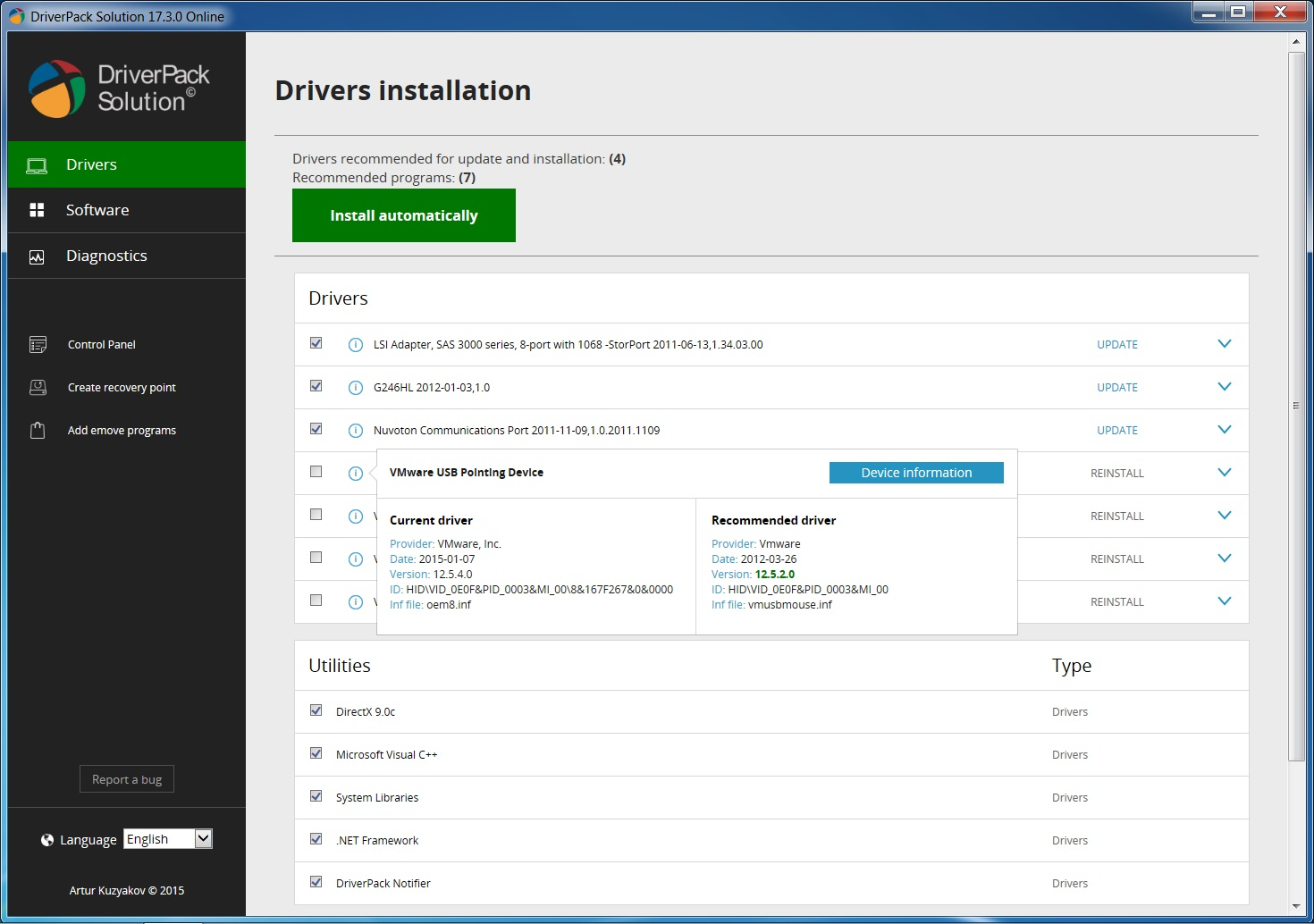 free download driver identifier for windows 8