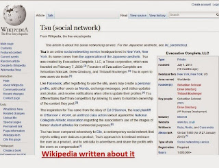 tsu social netwok wiki