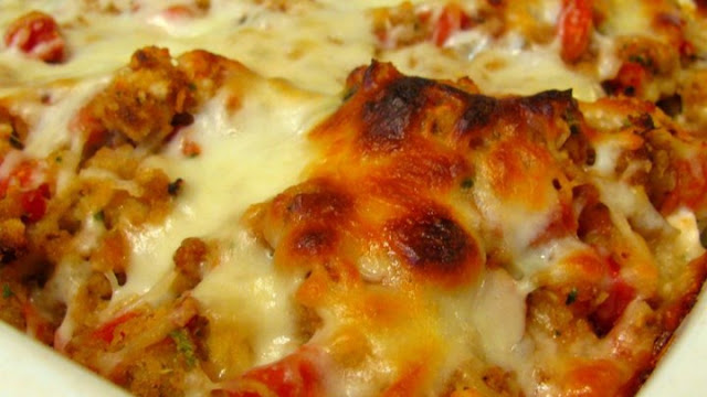 Bruschetta Chicken Bake