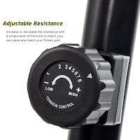 Merax RB1020 adjustable magnetic tension knob, with 8 resistance levels