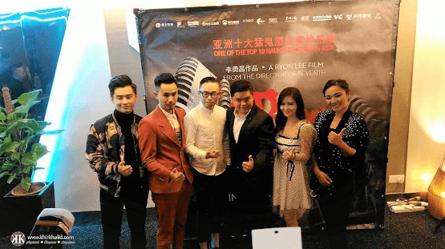 Haunted Hotel, Ryon Lee, Aom Sushar, Leon Li Chuan, Teddy Chin, Alvin Chong, Nadia Aqilah,