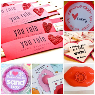 NO-CANDY VALENTINES FOR KIDS- 30+ easy & fun ideas! #nocandyvalentines #valentinesforkids #valentinescrafts #nocandyvalentinesforkidsschool #nocandyvalentinesforkids #valentinesideasforkidsschool #valentinesideasforkids