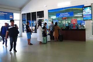 ferry ticket counter to ko samui