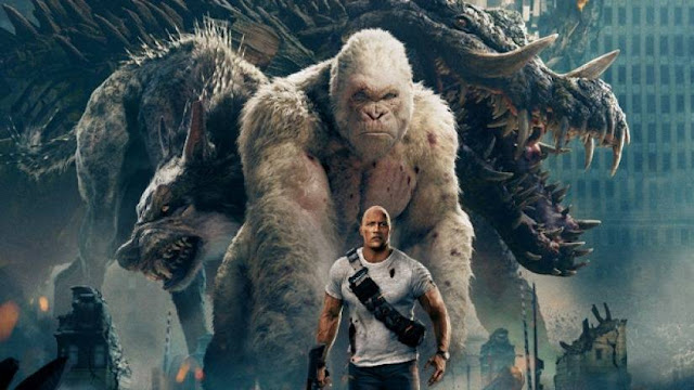 Rampage (2018) English Movie Free Download HD 720p