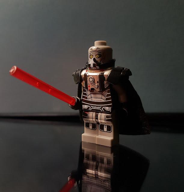 Darth Malgus sith Star wars lego fan art