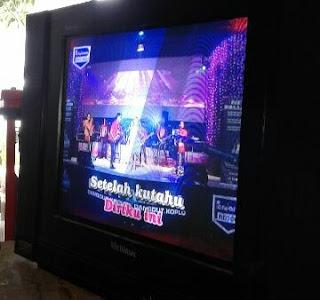 TV Cina multimax suara ada gambar gelap