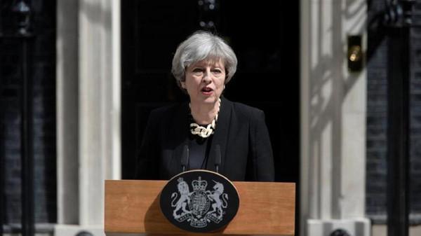 رئيسة الوزراء البريطانية تيريزا ماى تشدد الاحكام على جرائم الارهاب