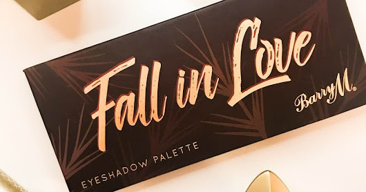 Barry M 'Fall in Love' Eyeshadow Palette