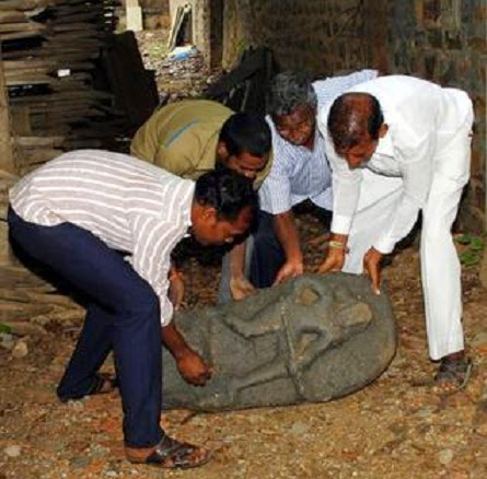 800 year old idols unearthed at Ongole