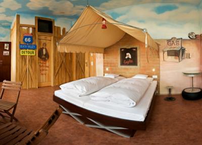 desain kamar ala tenda gurun