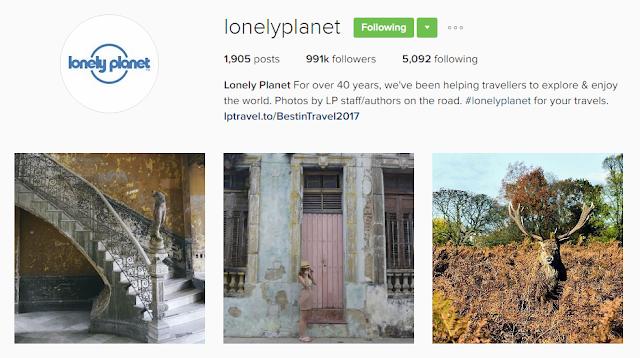 Follow @lonelyplanet on Instagram