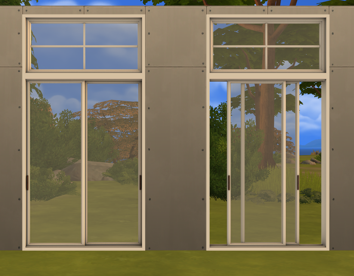 My Sims 4 Blog Sunset Windows And Doors By Minc78