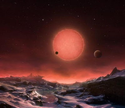 Ditemukan Tiga Planet Baru Seukuran Bumi