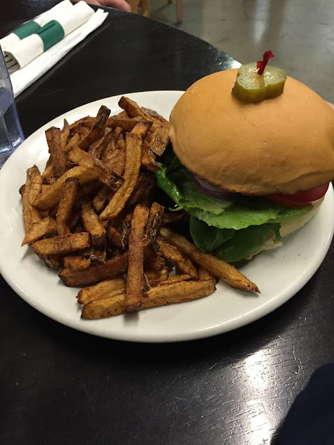 Can't go wrong with a burger and fries at Bushel and Peck's!