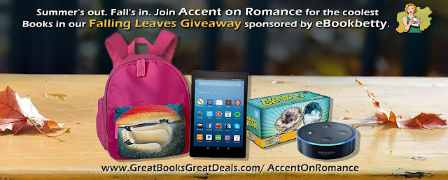 Accent on Romance Sept Gveaway