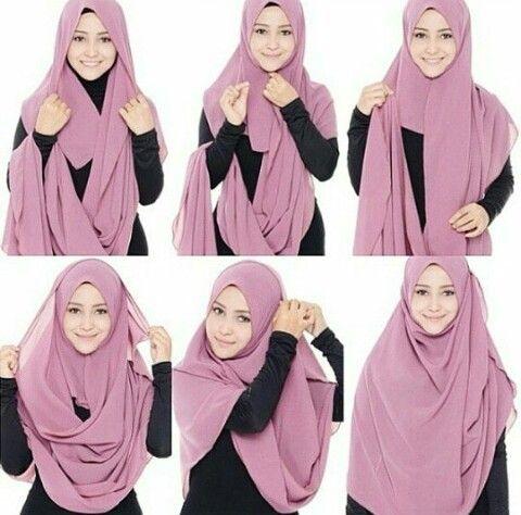 25 Inspirasi Tutorial Hijab Modern Syar I Terbaru 2018