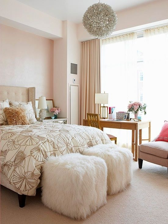 beautiful bedroom with feminine flair