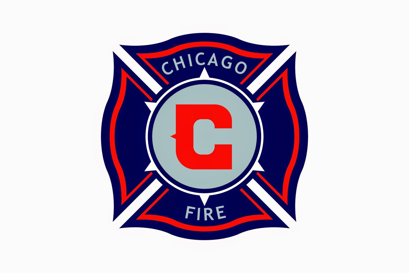 Chicago Fire Log...K Logo In Fire