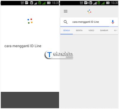 Mengucapkan kata di Ok Google