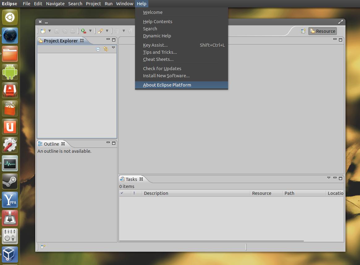 Eclipse IDE: Get Ubuntu AppMenu And HUD Support ~ Web