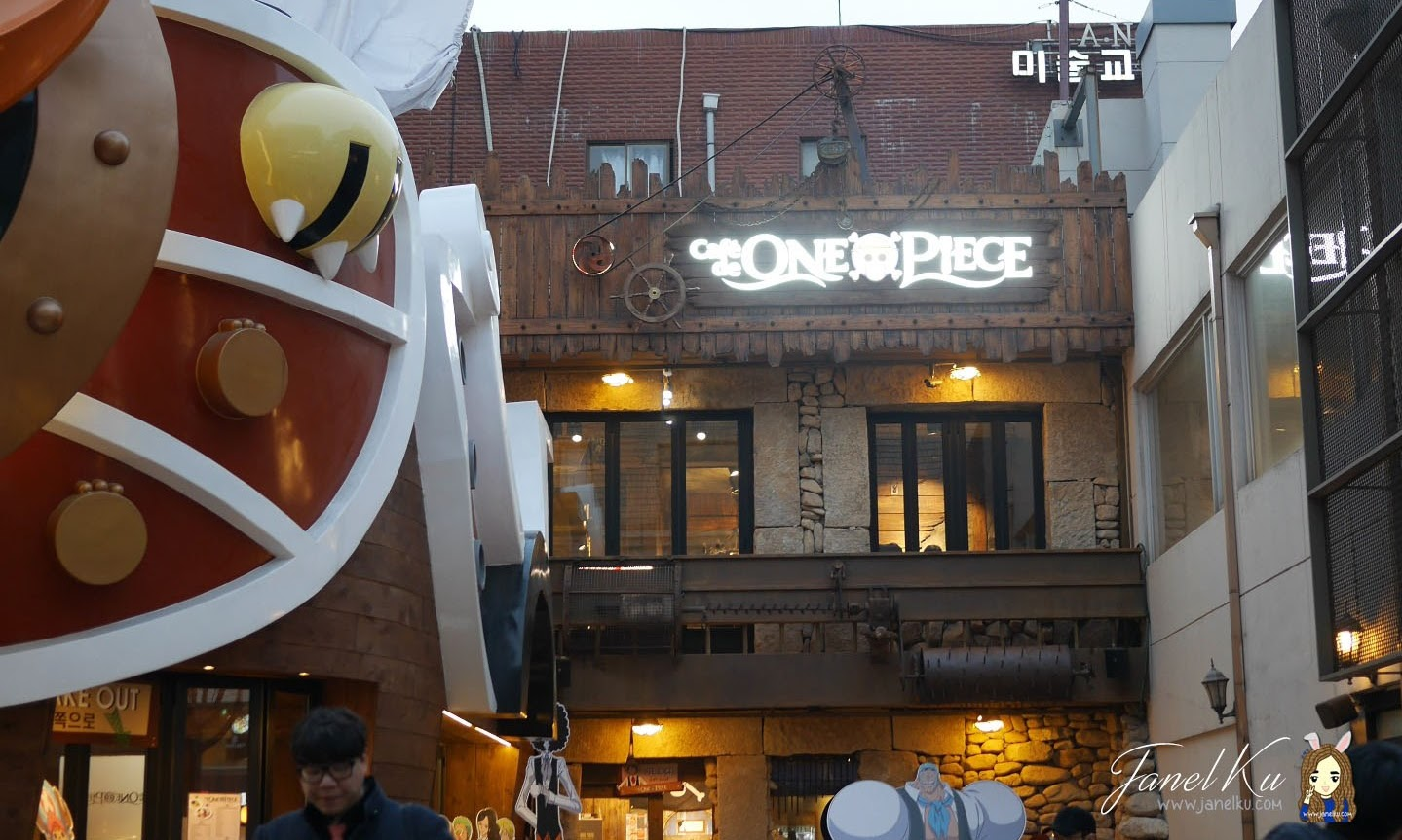 Visiting the One Piece Cafe in South Korea, Hongdae!