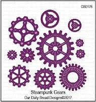 ODBD Custom Steampunk Gears Dies