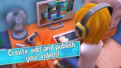 Download Youtubers Life Gaming MOD Unlimited Money v1.0.6 Apk Android Terbaru