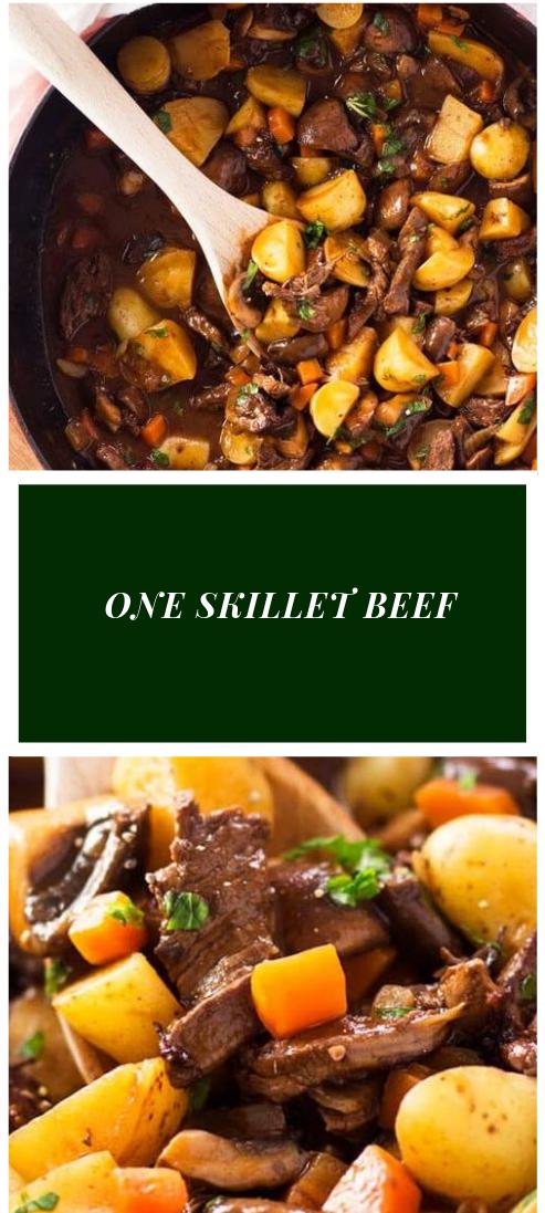 ONE SKILLET BEEF #beef