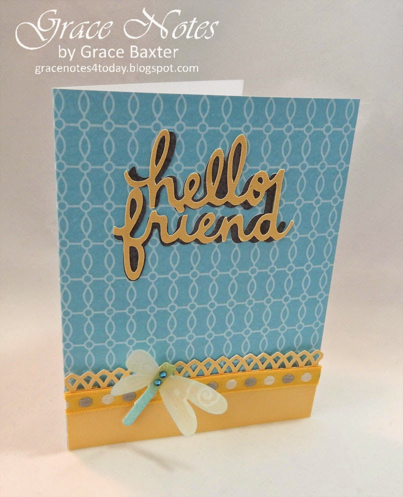 Hello Friend, card front