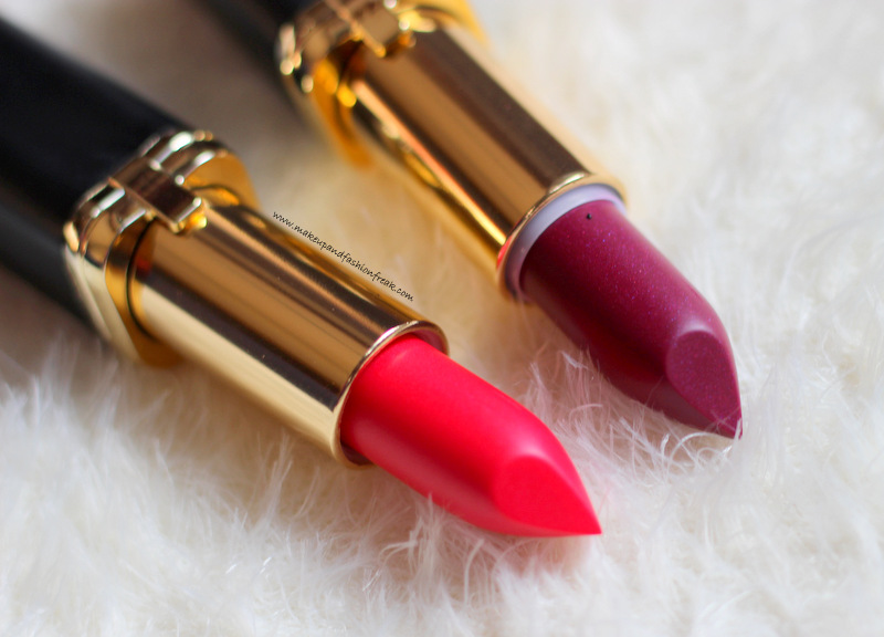 L'Oreal Paris Color Riche Collection Exclusive La Vie En Rose Lipsticks in Liya's and JLo's