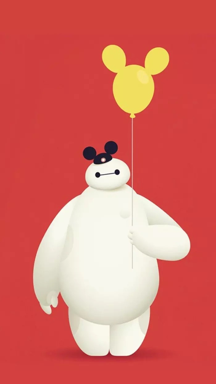 28 HD WALLPAPER BAYMAX BIG HERO 6 UNTUK IPHONE DAN ANDROID SUPER