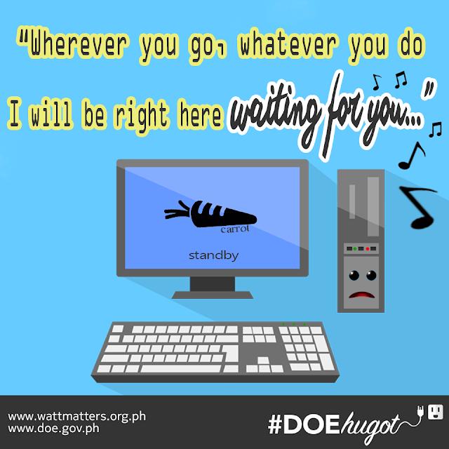 Philippine Department of Energy Hugot Lines Desktop Laptop