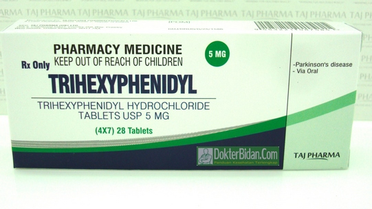 Trihexyphenidyl - Efek Samping Dosis Dan Manfaat Sebagai Obat Parkinson