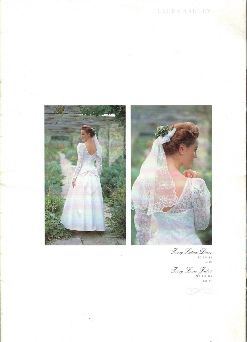 wedding flowers for laura ashley circa laura ashley wedding dresses back in when Laura Ashley did wedding dresses